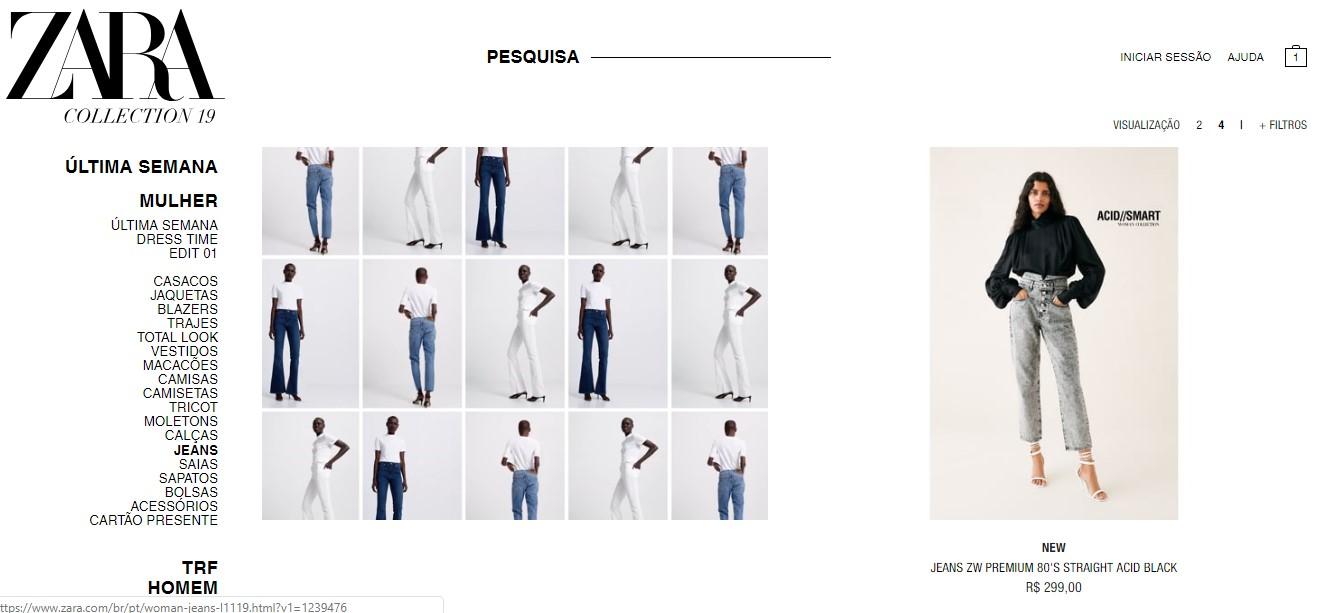 84ebd5294 PARA TUDO  a Zara agora tem e-commerce - Hey